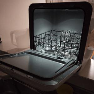 IRIS製品の食洗機内ライト