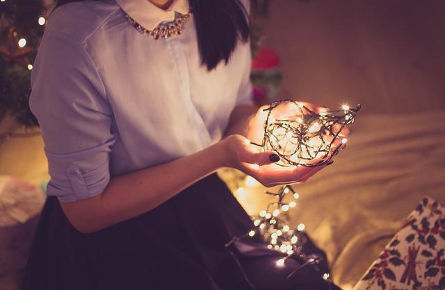 クリスマスに一人の女の子